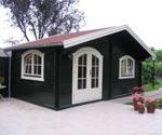 dachrinnen verzinkt gartenhaus garport garage. Black Bedroom Furniture Sets. Home Design Ideas