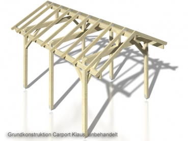 satteldach einzelcarport klaus gr e 3 59 x 5 10 m carport. Black Bedroom Furniture Sets. Home Design Ideas