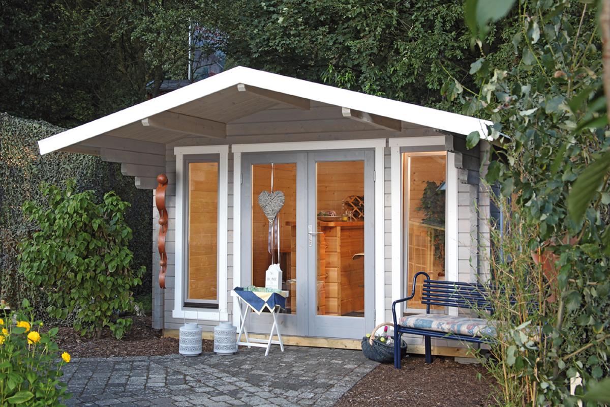 gartenhaus hammerfest 70 a iso gr e 380 x 320 m finnhaus. Black Bedroom Furniture Sets. Home Design Ideas