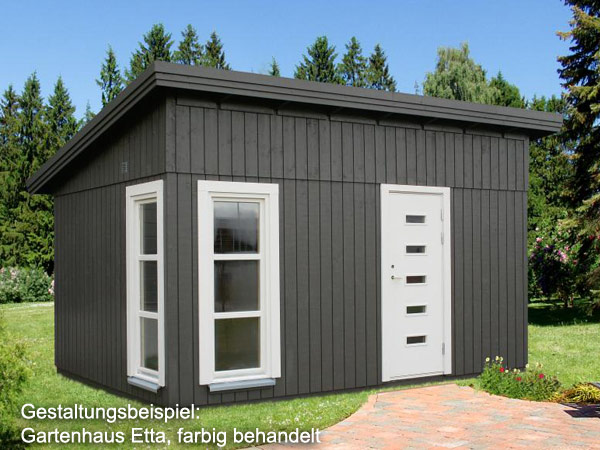 palmako gartenhaus etta 18 70 iso 4 53 x 3 30 m. Black Bedroom Furniture Sets. Home Design Ideas