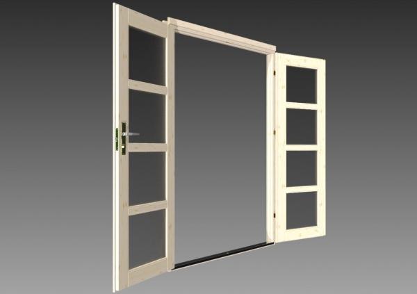 gartenhaus oriental 28 c 3 80 x 2 60 m flachdach ger tehaus mit holzboden ebay. Black Bedroom Furniture Sets. Home Design Ideas
