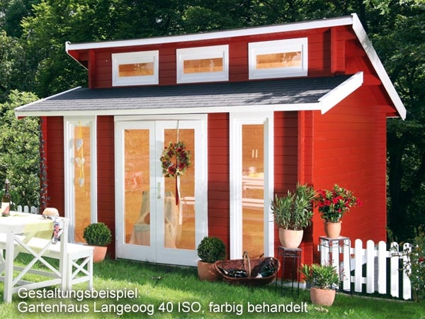 gartenhaus langeoog 40 iso 4 20x3 30m blockhaus gratis schindeln wolff finnhaus ebay. Black Bedroom Furniture Sets. Home Design Ideas