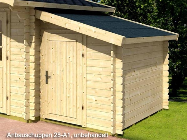 gartenhaus anbauschuppen 28 a1 gr e 1 60 x 2 20 m abstellraum holz ebay. Black Bedroom Furniture Sets. Home Design Ideas